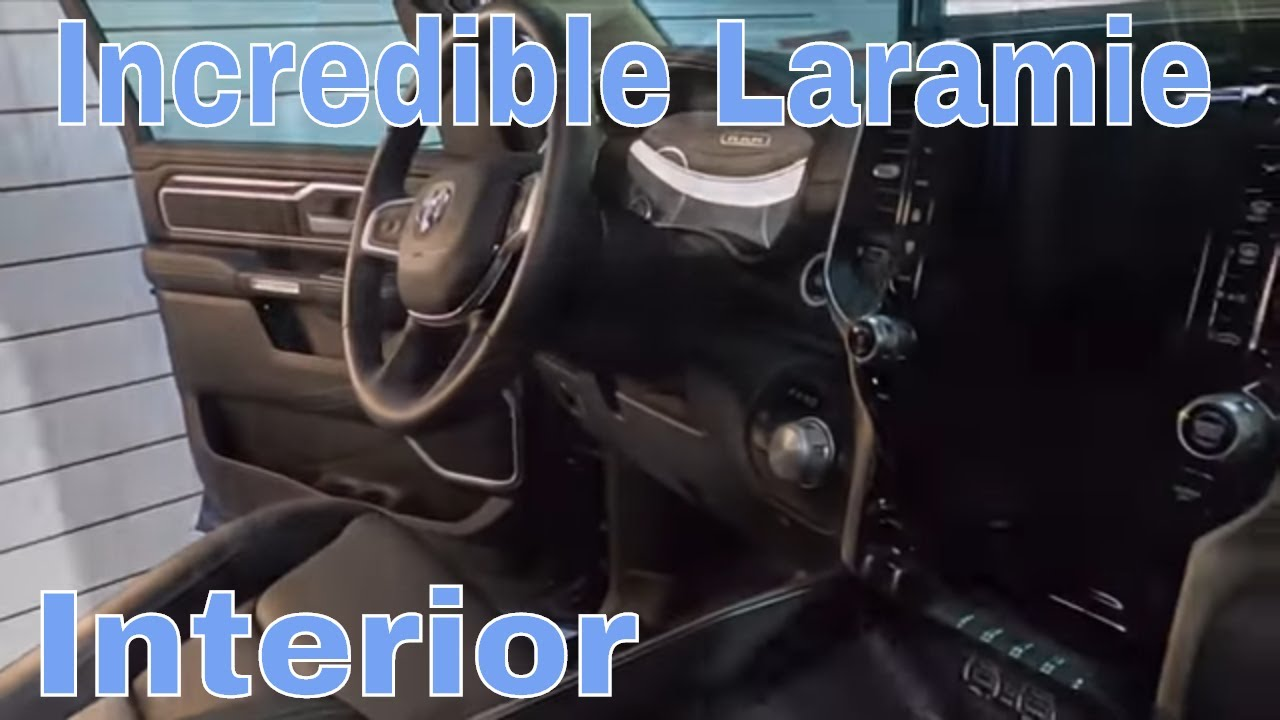 One Of The Most Intriguing Truck Interiors! The New Ram 1500 Laramie Interior Prep And Protect!Part1