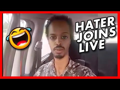Hater Joins Live & Get's Roasted ?
