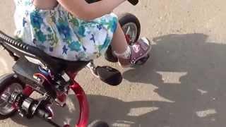 Электровелосипед своими руками для ребенка Часть 2(Как делался электробайк. Аккумулятора хватает, если он новый и правильно заряжен (и если он хорошей марки..., 2014-06-08T19:35:50.000Z)