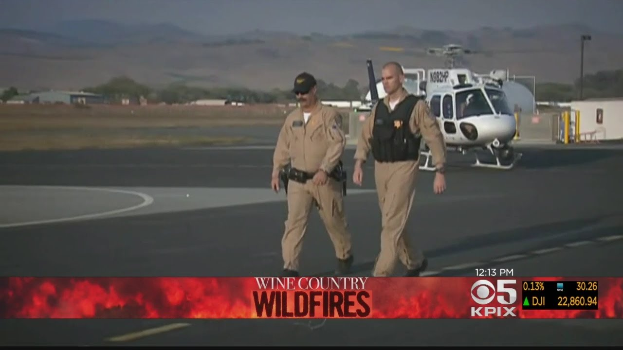 CHP pilots talk daring, emotional fire rescues in Wine Country