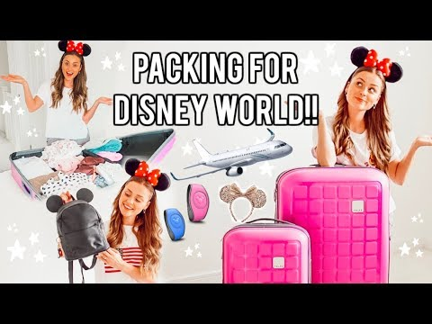 PACKING FOR DISNEY WORLD 2019!! Ultimate Florida Packing List!! #DisneyWeek