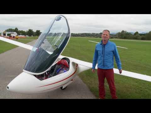 Erstflug des Segelflugzeug-Prototyps