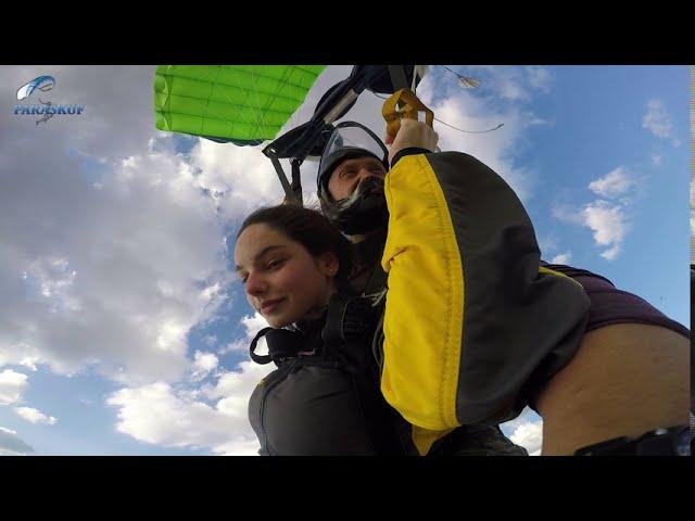 Прыжок с парашютом в тандеме в Киеве