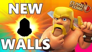 "Clash Of Clans | ""NEXT WALL LEVEL!"" 