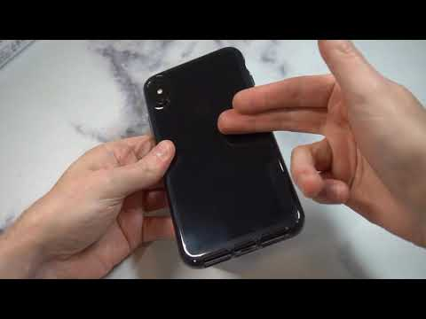 tech21 Pure Tint Case for Apple iPhone X's Max - Carbon Unboxing and Review