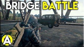 BRIDGE BATTLE - PLAYERUNKNOWN