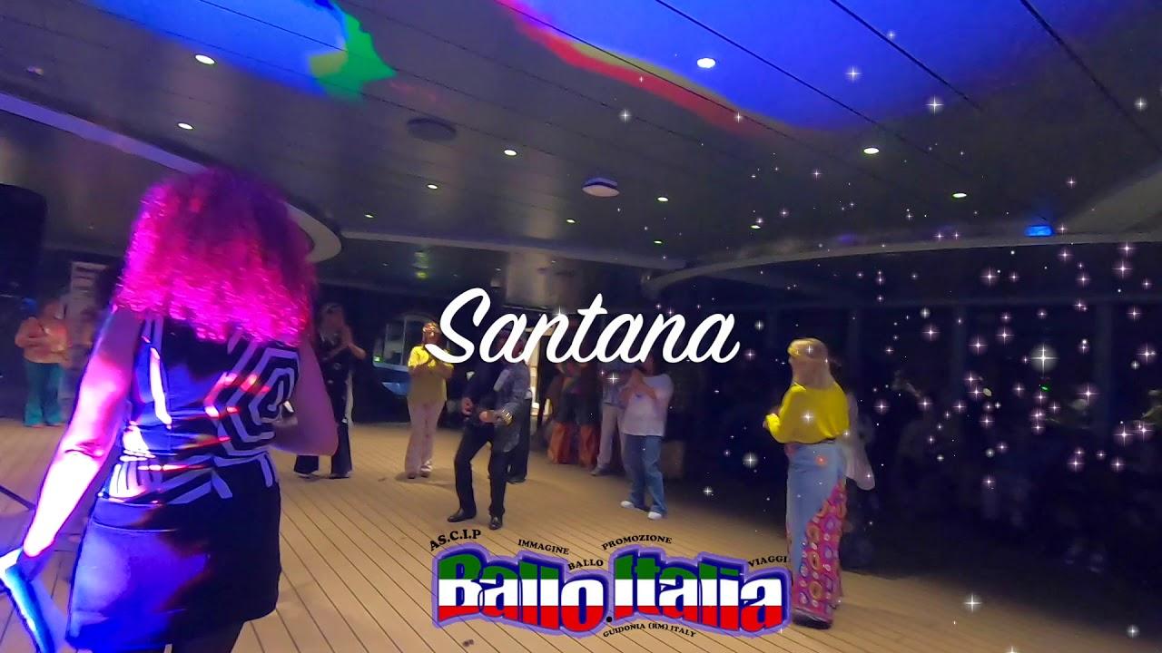 Msc seaview crociera Ballo Italia Santana (cover Franco ...