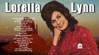Loretta Lynn Greatest Hits Playlist - Best of Lorreta Lynn Classic Country Songs of all time