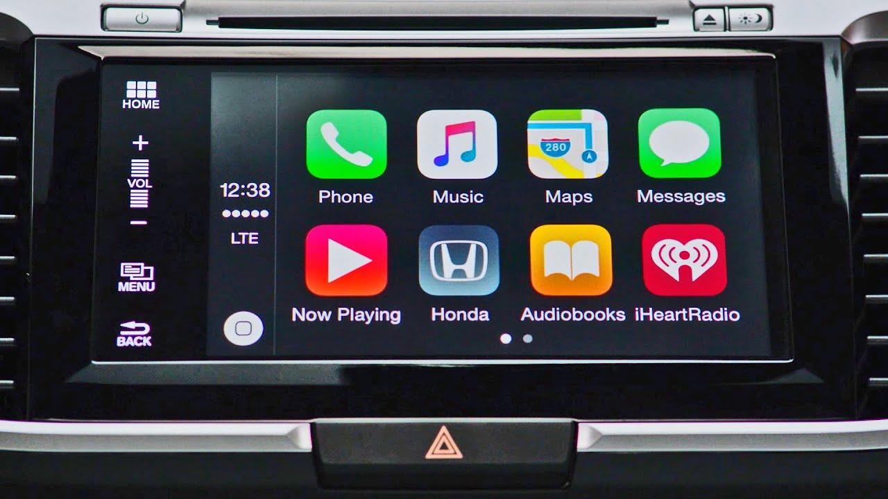 2016 Honda Accord - Apple CarPlay - YouTube
