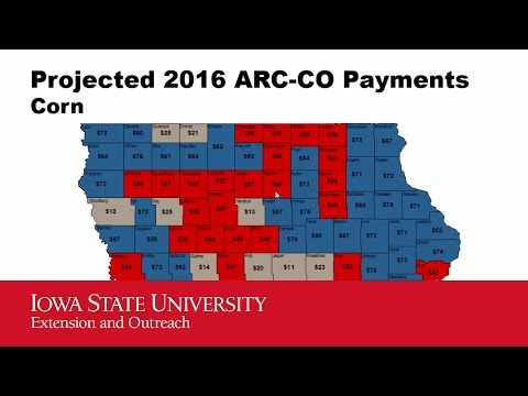 2016 Iowa Farmland Leasing - Farm Bill - Crop Insurance Payments