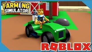 Awesome Nouvelle voiture dans Roblox Farming Simulator