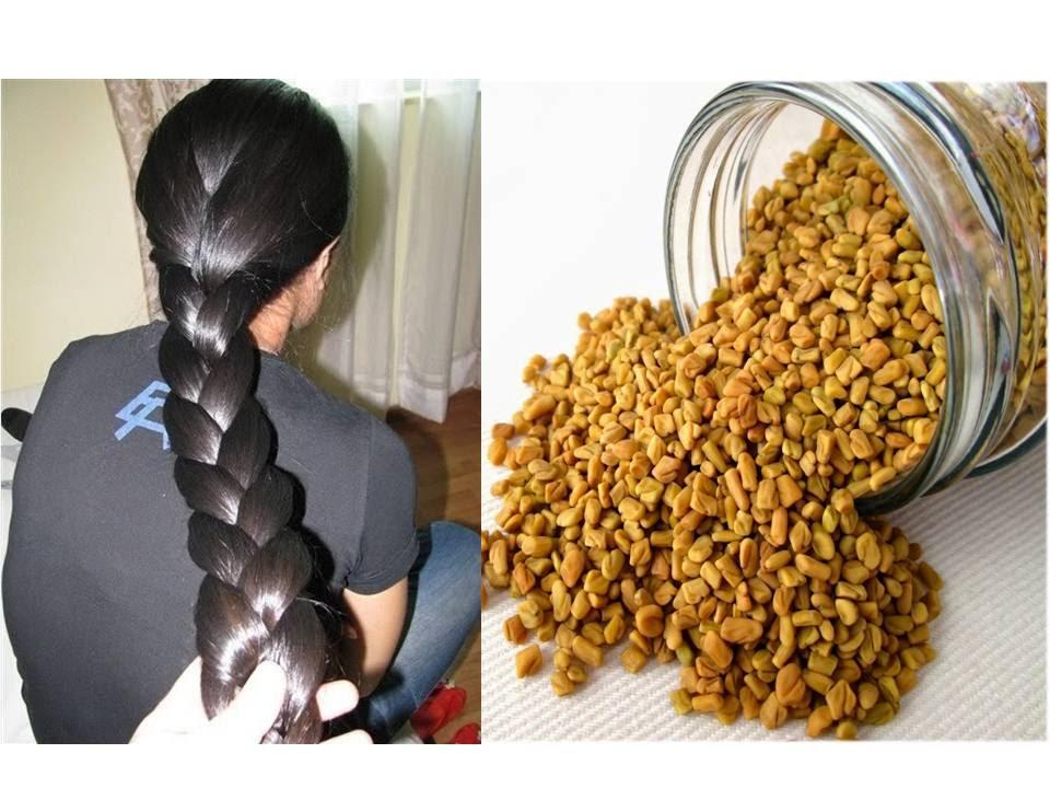 Healthy Hair Growth Using Fenugreek Seeds - YouTube Fenugreek Seeds For Hair
