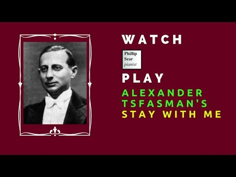 Alexander Tsfasman: Stay With Me