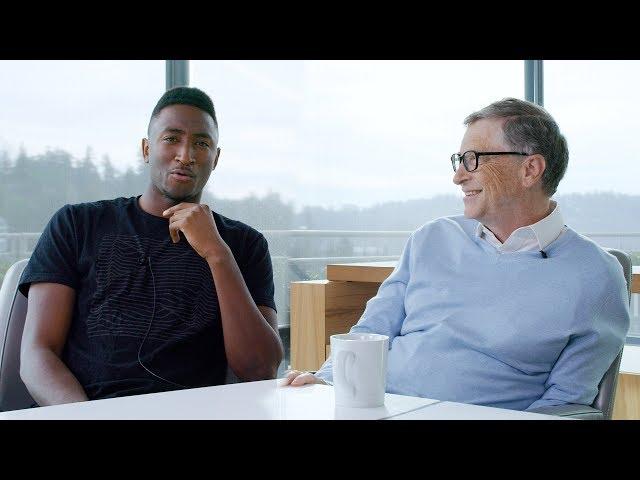 Talking Tech & Saving the World with Bill Gates!