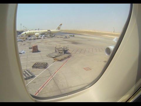 KLM Cargo B747-400F - Abu Dhabi new airport Take-Off Timelapse, Wingview 2.7K GoPro
