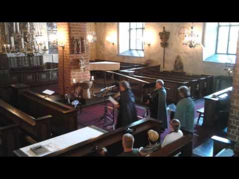 Ictus Spei- Gregorian Vocal Group, Hollolan kirkossa (1495-1510) 26-7-2014