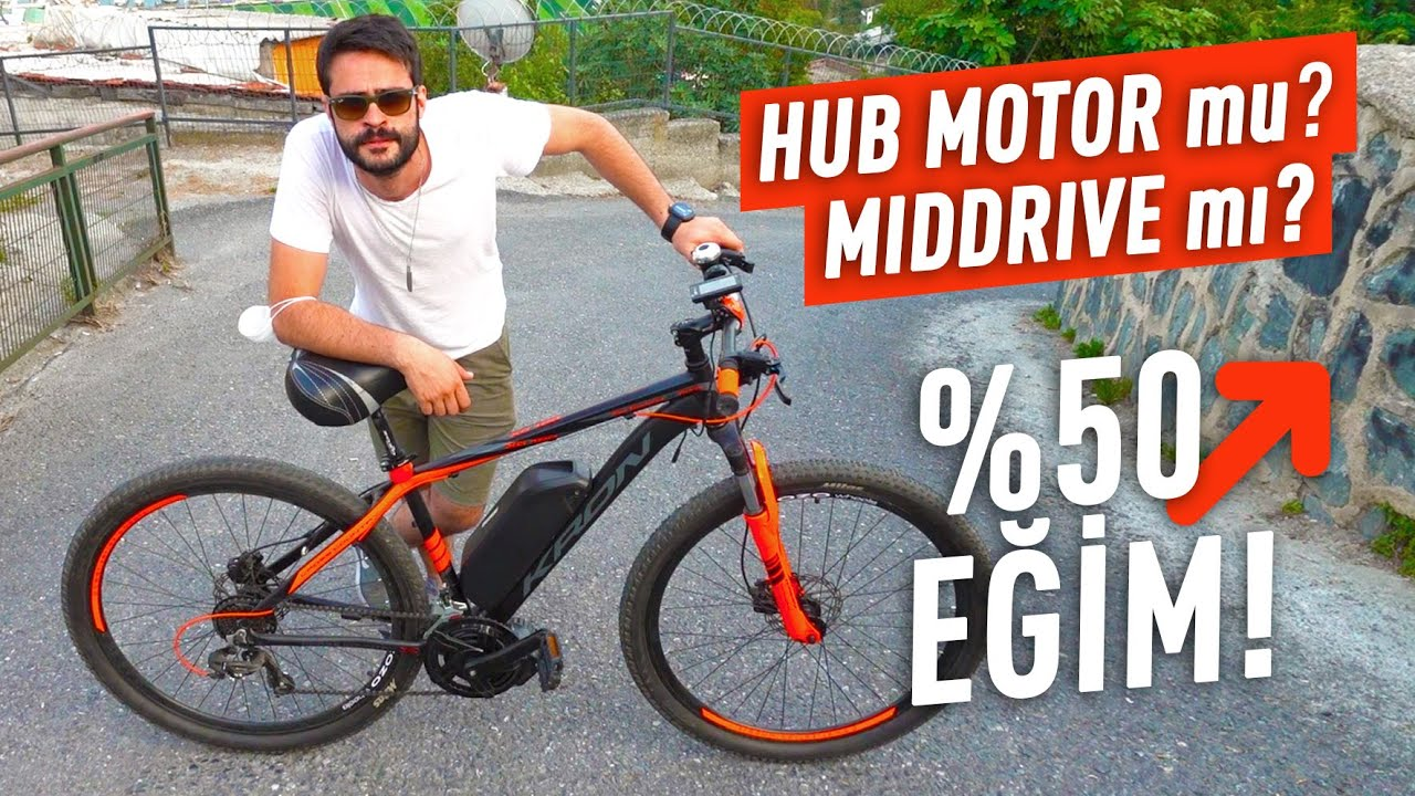 Elektrikli Bisiklet Yokuş Testi: Hub Motor Mu Middrive Motor Mu?