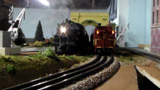 Chris's o scale  Lionel New Haven 10 wheeler & Pennsy M1a