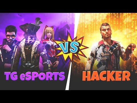 Free Fire Hacker vs Total Gaming Esports and Ajjubhai - Garena Free Fire