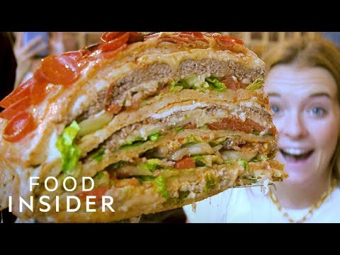 Big 95 Morning Show - Huge Pizza Burger raises thousands for charity