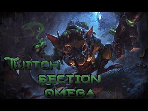 Skin Twitch de la section Oméga - League of legends [FR]