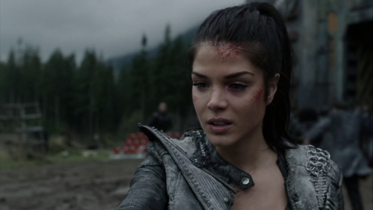The 100 4x06 Octavia Remembers Lincolns Death Youtube