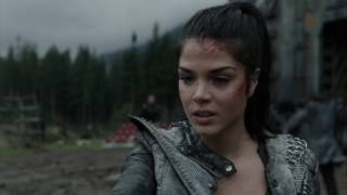 The 100 4x06 Octavia remembers Lincolns death