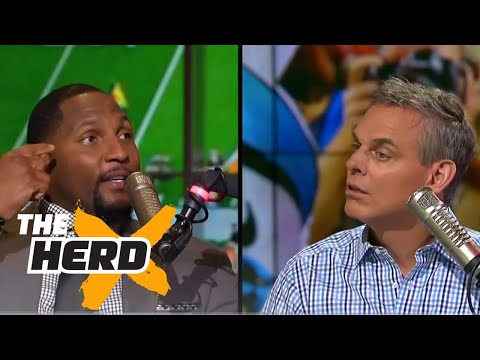 Ray Lewis: Peyton Manning was good at trying to fool me - 'The Herd'