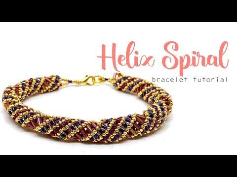 Helix Spiral Bracelet - Jewellery Making Tutorial thumbnail