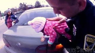 Bodycam Shows Police Officers Saving Life of Choking Baby