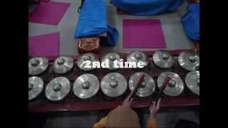 Indonesian Culture: Gamelan Udan Mas (bonang)