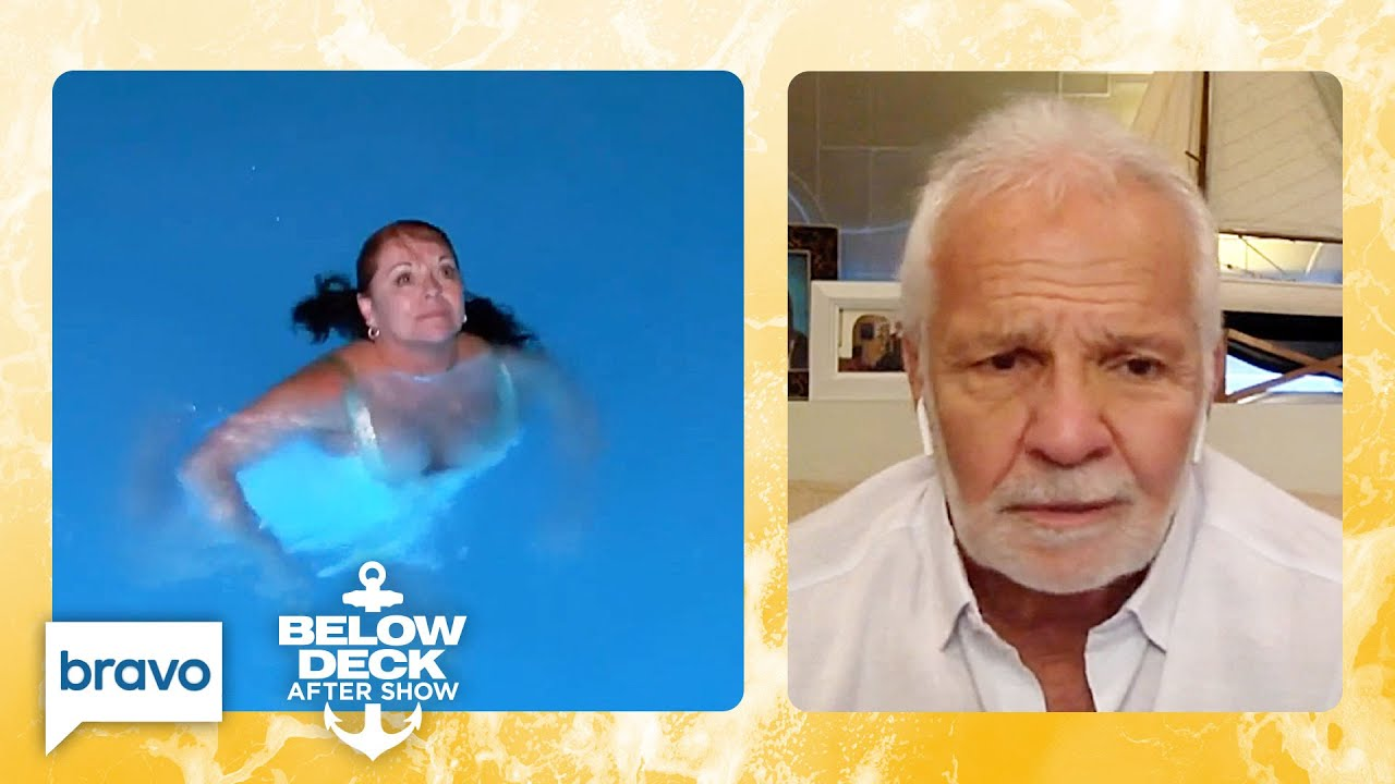 Download Captain Lee Relives When a Charter Guest Jumped Into the Water | Below Deck After Show (S8 Ep10)