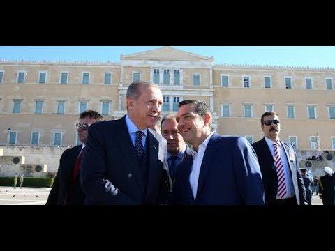 Historischer Staatsbesuch in Griechenland:  Alexis Tsipras empfängt Recep Tayyip Erdogan in Athen