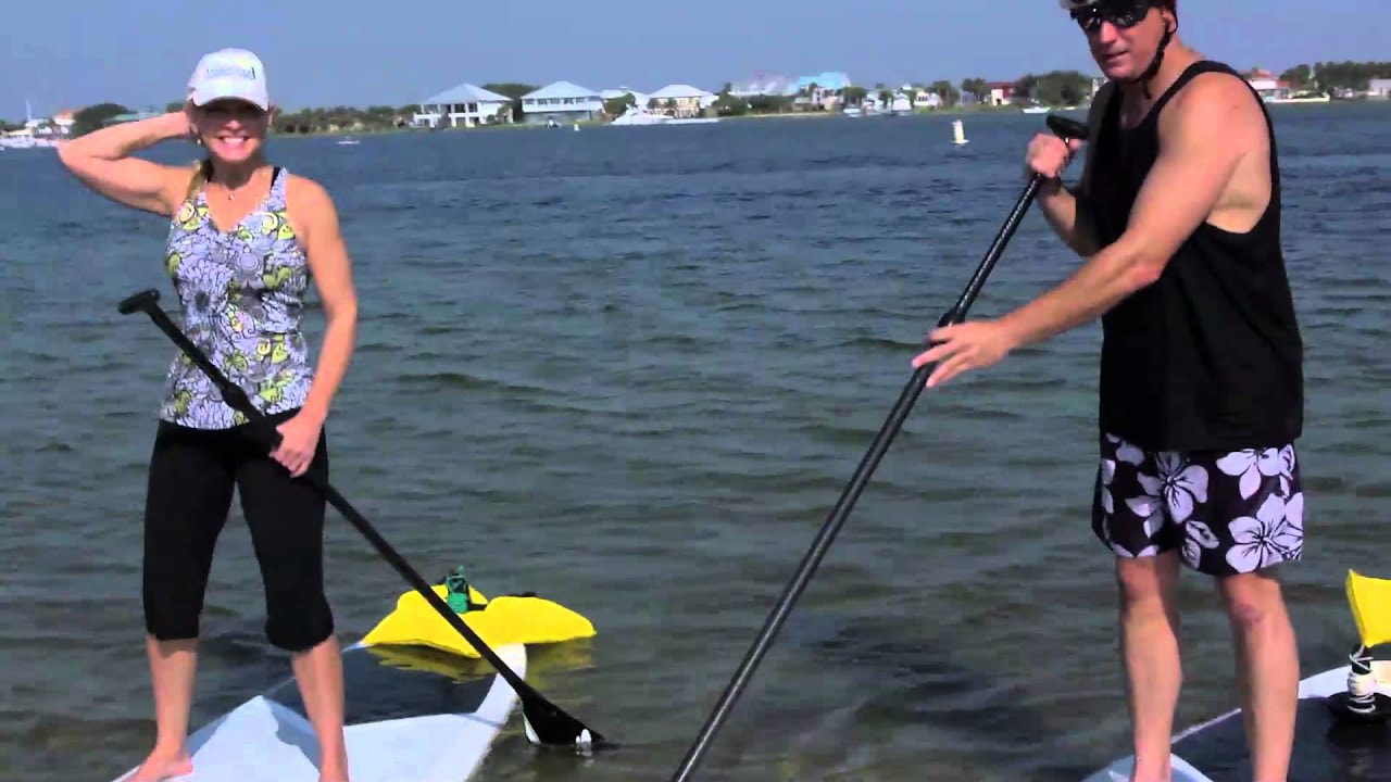 3 minute adventures paddle boarding soundside part 1 youtube