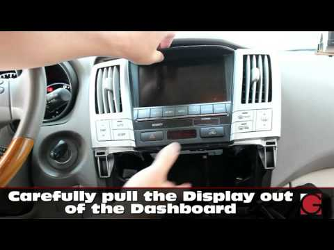 2007-2009 Lexus RX350 RX400h GROM Vline Install, Car Stereo Removal Guide