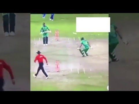 Virat Kohli SHOCKING Run OUT Afridi India vs Pakistan Asia Cup T20 2016