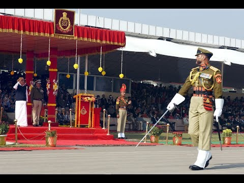 BORDER SECURITY FORCE : 52nd RAISING DAY PARADE
