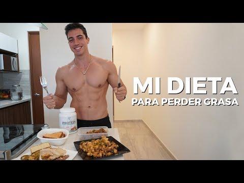 Mi dieta para perder grasa ?