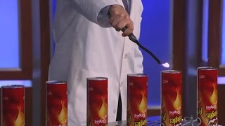 Jimmy Kimmel and Science Bob Launch Pringles Can Rockets
