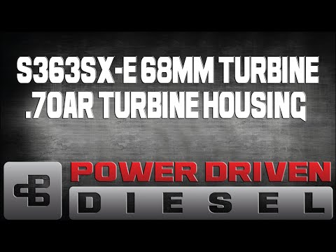 Dyno Test: BorgWarner Turbos S363SXE Turbocharger | Power Driven Diesel
