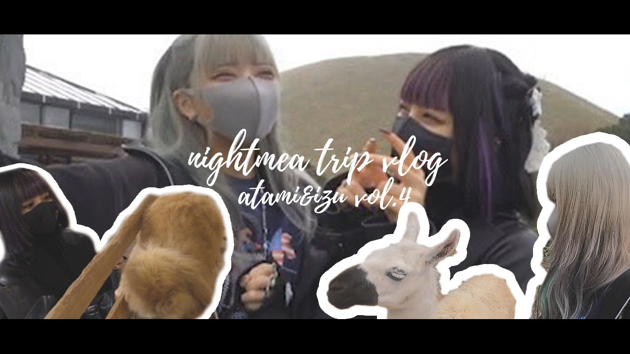 【Vlog】チンパンジ〜!伊豆・熱海デートvol.4