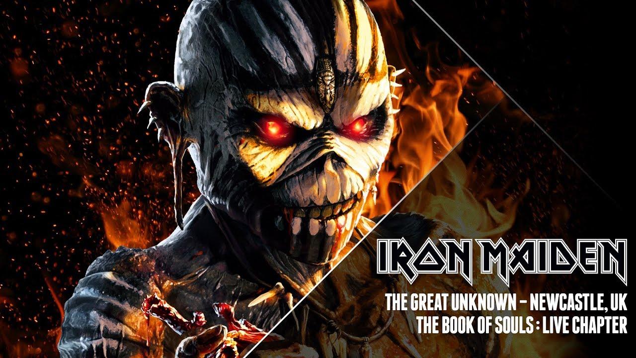 Iron Maiden Book Of Souls Zip