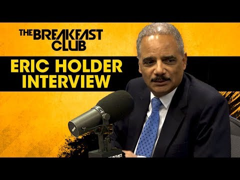 Former Attorney General Eric Holder On Working With Obama & Why Every Vote Counts