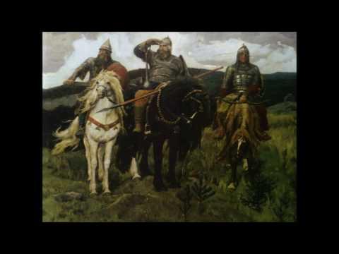 Три богатыря. Русские народные былины. Аудиокнига. Сказки на ночь