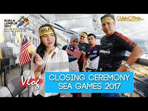 Vlog - Closing Ceremony Sea Games 2017  [HD]