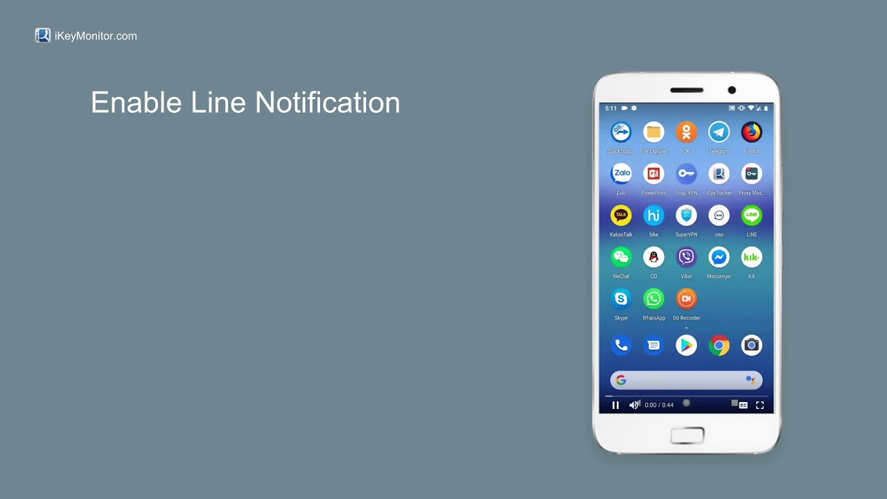 How to Enable iKeyMonitor Line Spy for Android?