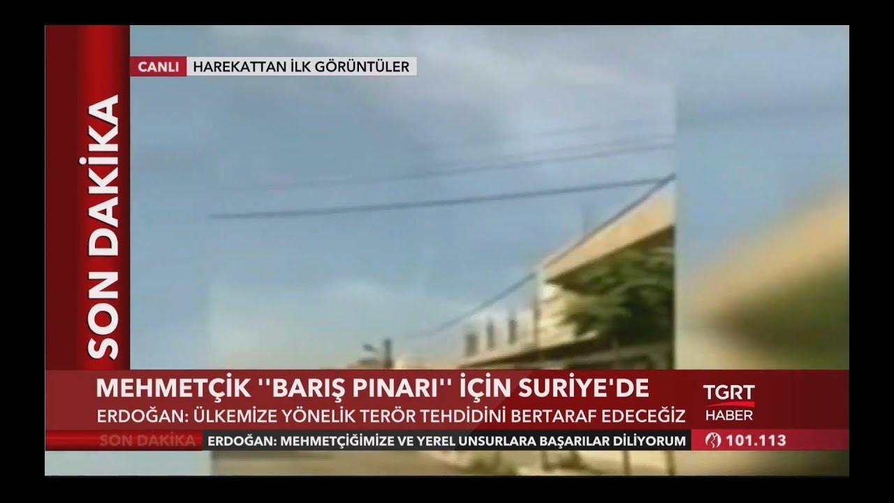 Barış Pınarı Harekatı'ndan İlk Görüntüler - Batuhan Yaşar Yorumladı