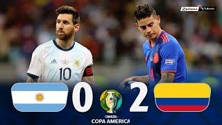 Argentina 0 x 2 Colombia ● 2019 Copa América Extended Goals & Highlights HD