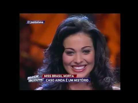 Morte de miss Brasil ainda é um mistério