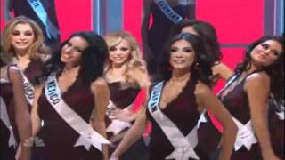 Miss Universe Opening Numbers